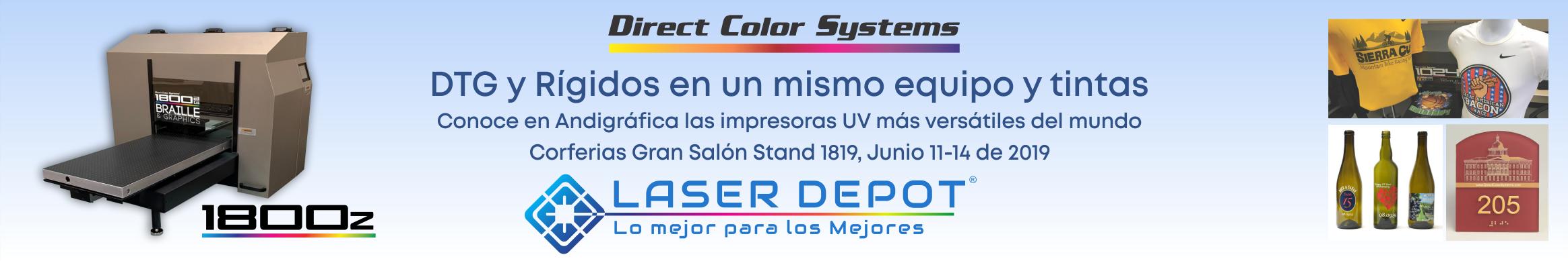 Impresoras DTG UV Colombia