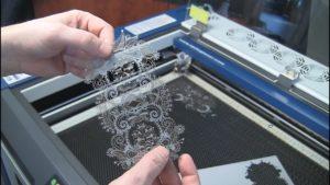 corte laser papel alta calidad