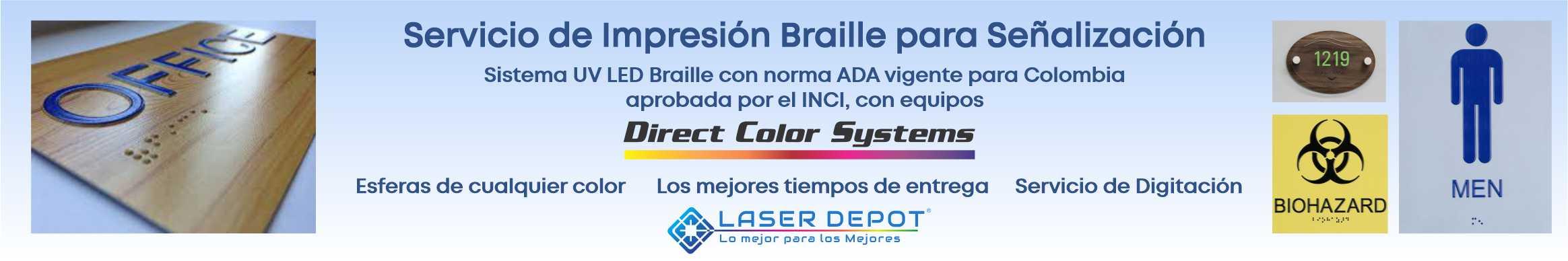 Servicio Señalizacion Braille